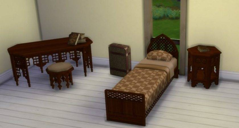 Moroccan Bedroom Set Lexicon Luthor Sims Updates