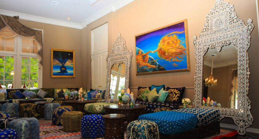 Moroccan Inspired Living Room Decor Furniture