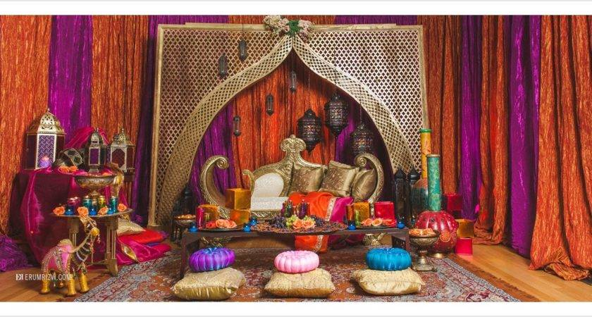 Moroccan Inspired Sangeet Decor Partyland Wedding
