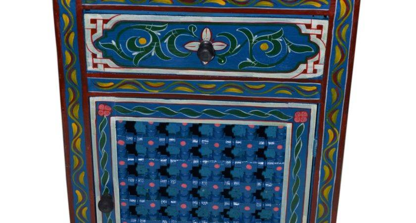 Moroccan Painted Furniture Pixshark