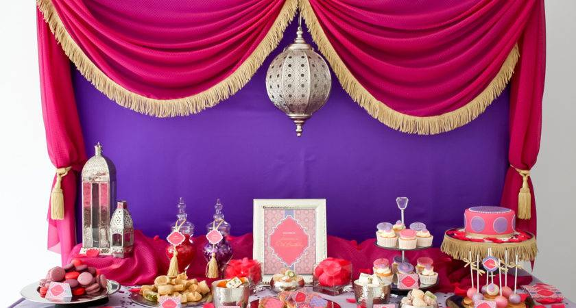 Moroccan Themed Party Baby Shower Ideas Pinterest