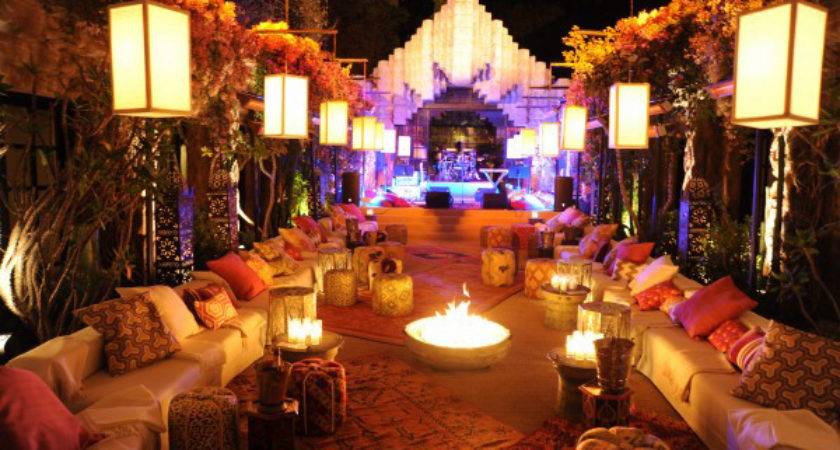 Moroccan Themed Party Rental Furniture Los Angeles