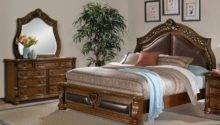 Morocco Piece King Bedroom Set Pecan Value City