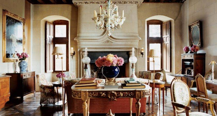 Most Beautiful Living Rooms Vogue