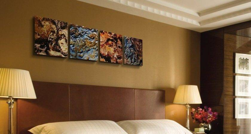 Mother Earth Abstract Painting Modern Metal Wall Art