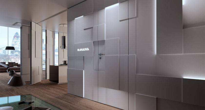 Movable Design Partitions Shine Walls