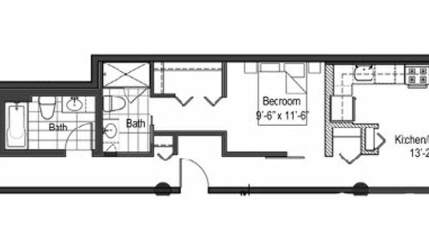 Narrow Apartment Floor Plans Buybrinkhomes