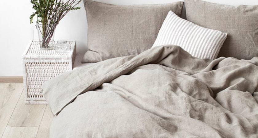 Natural Stone Washed Linen Duvet Cover Linentalesinbed