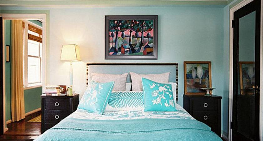 Navy Aqua Summer Decor Shades Blue