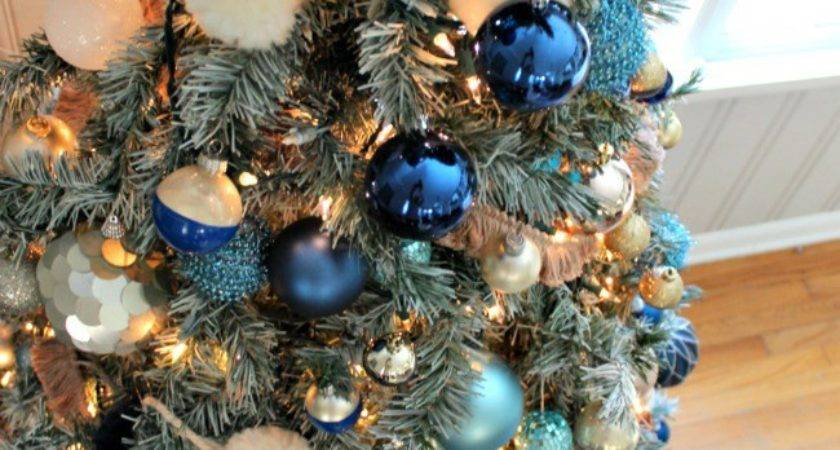 Navy Blue Christmas Decorations Billingsblessingbags