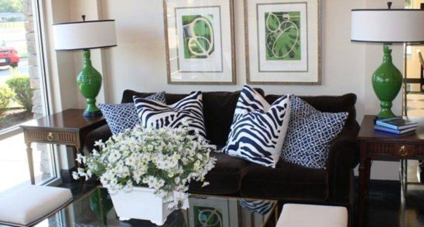 Navy Blue Green Living Room Color Crush