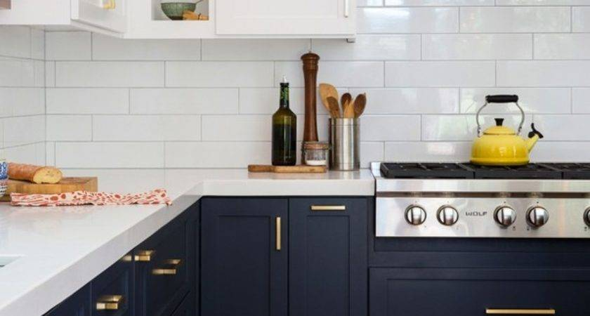 Navy Blue Kitchen Design Quicua