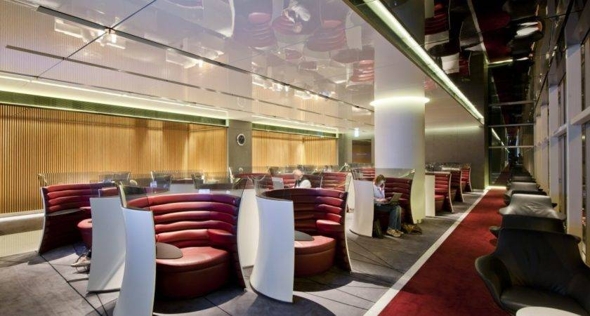 New Cathay Pacific Airport Lounge Foster Partners
