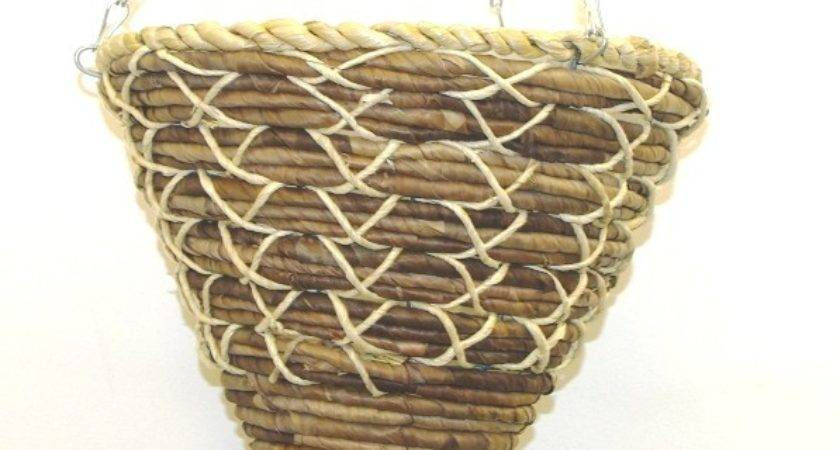 New Cone Shaped Hanging Baskets Easy Fill