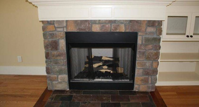 New Construction Fireplace Provided Classic Tile
