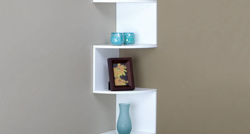 Nexxt Design Provo Corner Wall Mounted Shelf