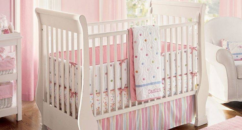 Nice Pink Bedding Pretty Baby Girl Nursery