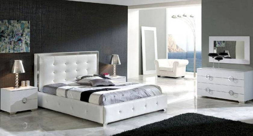 Nickbarron White Contemporary Bedroom Furniture