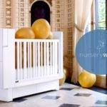 Nlb Limited Edition Nurseryworks Studio Crib White