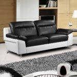 Nuvola Italian Inspired Modern Black White Sofa Collection