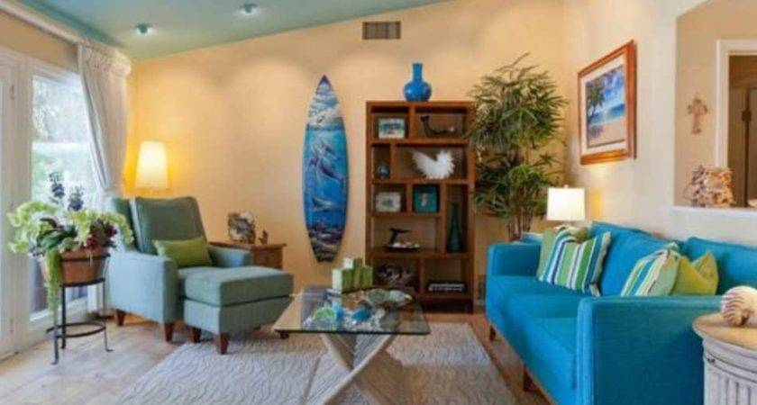 Ocean Themed Living Room Decorating Ideas Home Interior