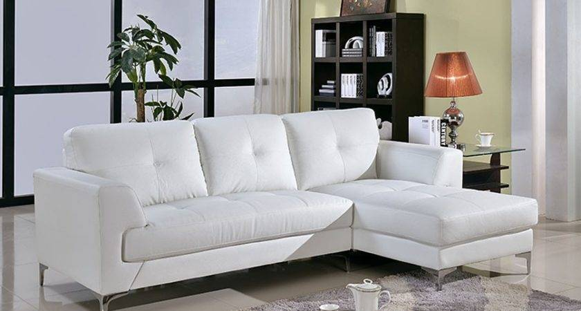 Off White Leather Sectional Sofa Thesofa