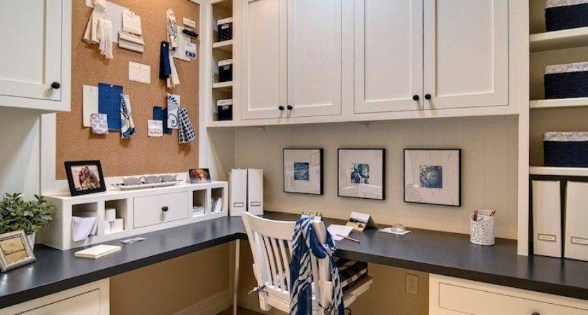 Office Built Cabinets Design Ideas