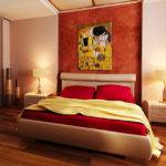 Oil Paintings Bedrooms Modern Bedroom Wichita