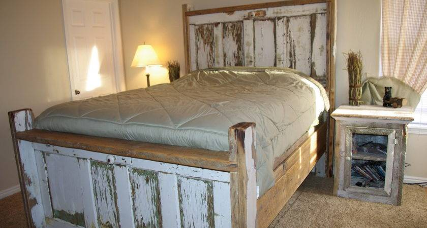 Old Door Headboard Ideas Cit