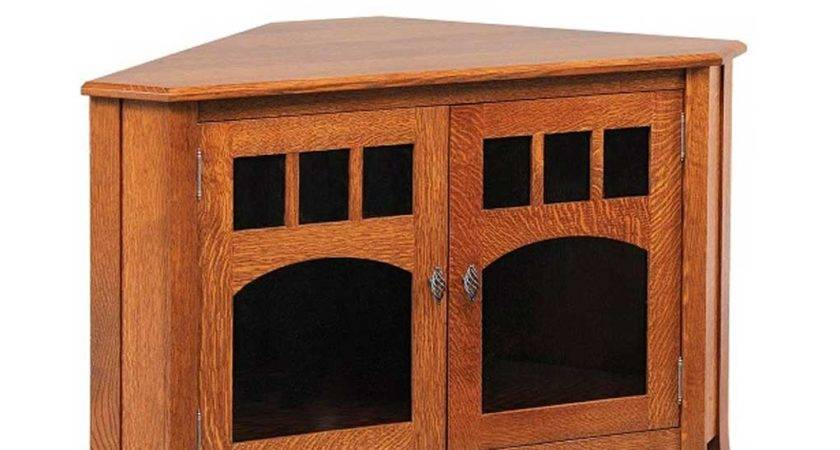 Old World Style Corner Stand Amish Direct Furniture