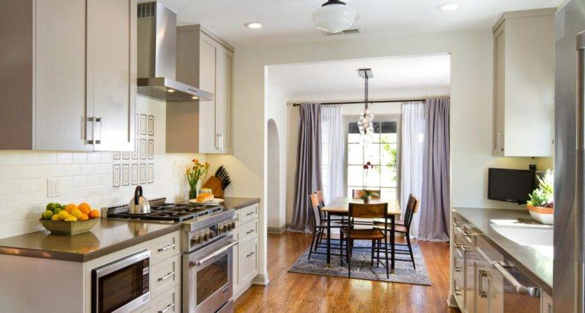 Awesome Open Plan Galley Kitchen 21 Pictures Homes Decor