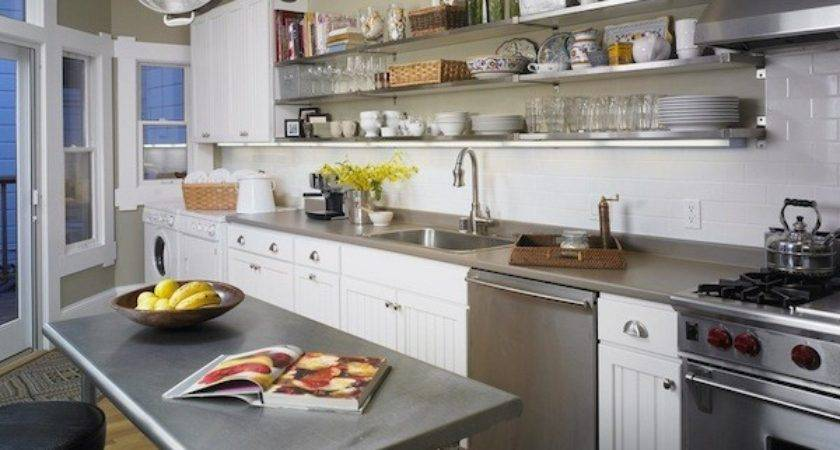 Open Shelving Kitchens Pearls Picnic