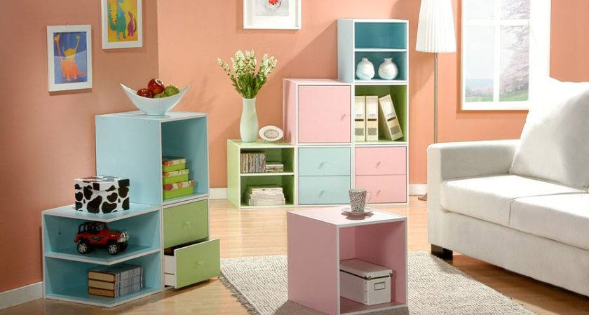 Optimus Search Stackable Storage Cubes Furniture