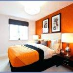 Orange Bedroom Decor Room