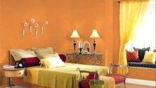 Orange Bedroom Design Ideas Wall Paint
