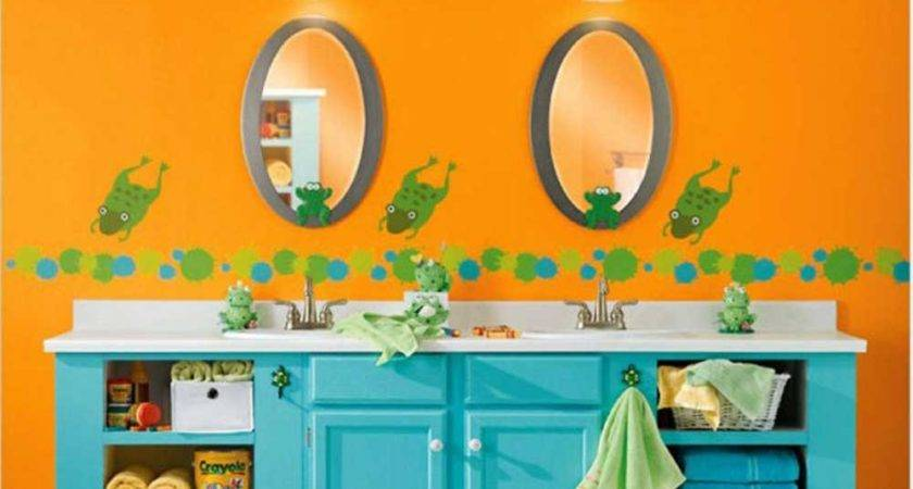 Orange Paint Ideas Make Your Bathroom Comfortable