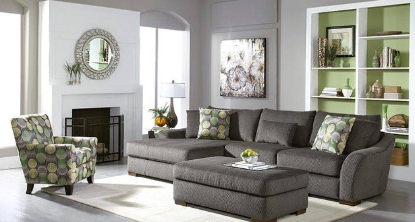 Orleans Gray Living Room Sofa Collection Contemporary