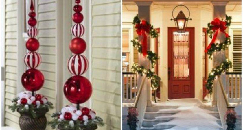 Outdoor Christmas Decoration Simple Elegant
