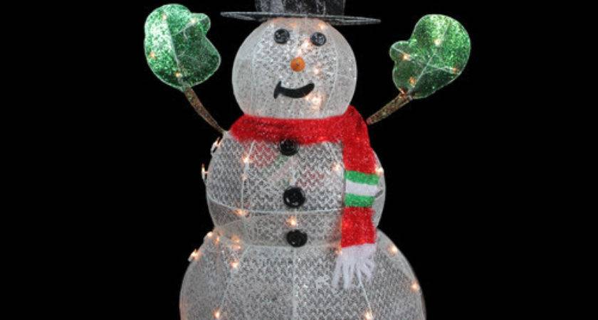 Outdoor Christmas Decorations Snowman