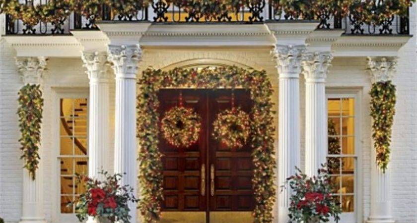 Outdoor Decorations Christmas Grasscloth