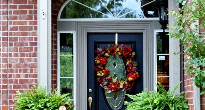 Outdoor Entryway Decorating Ideas Instant Knowledge