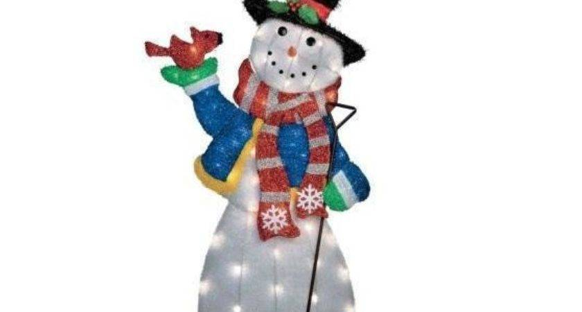 Outdoor Lighted Snowman Lookup Beforebuying