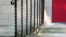 Outdoor Metal Railings Steps Pin
