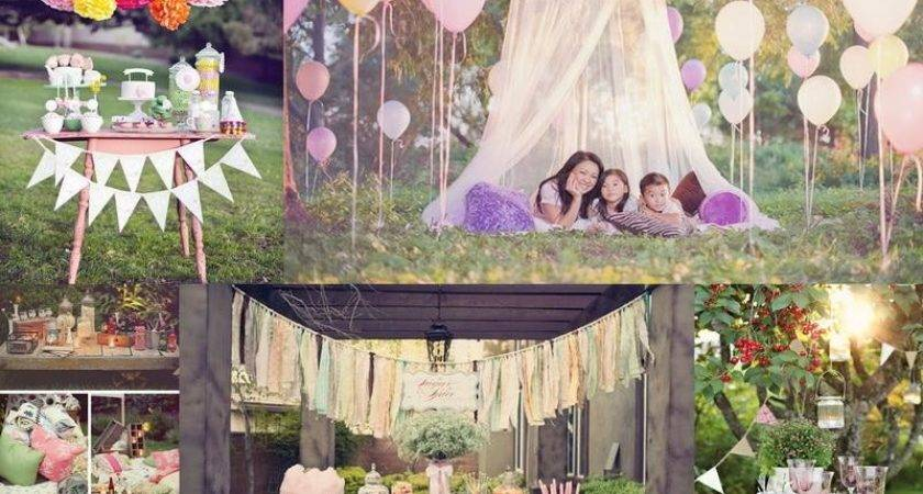 Outdoor Party Decorations Amazing Idea