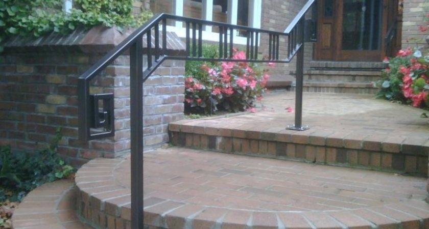 Outdoor Stair Railing Ideas Latest Door Design