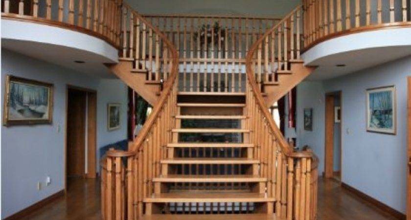 Outdoor Wooden Stair Railing Designs More Decor