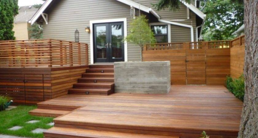 Outdoor Wooden Stairs Design More Decor