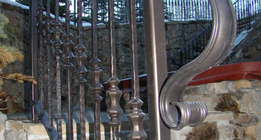 Outdoor Wrought Iron Stair Railings Fine