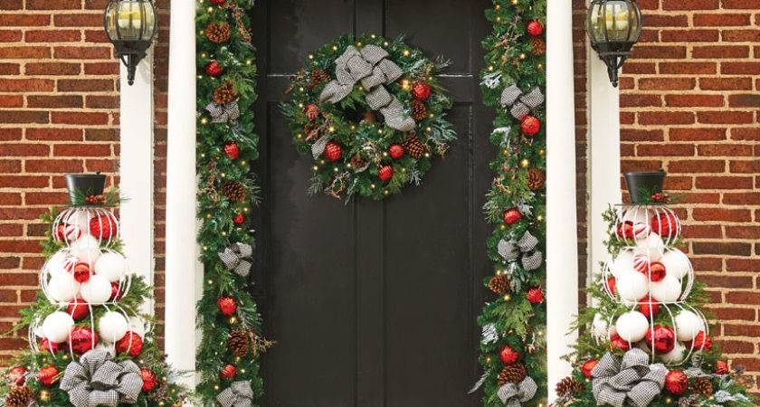 Outside Christmas Decorations Dress Your Home