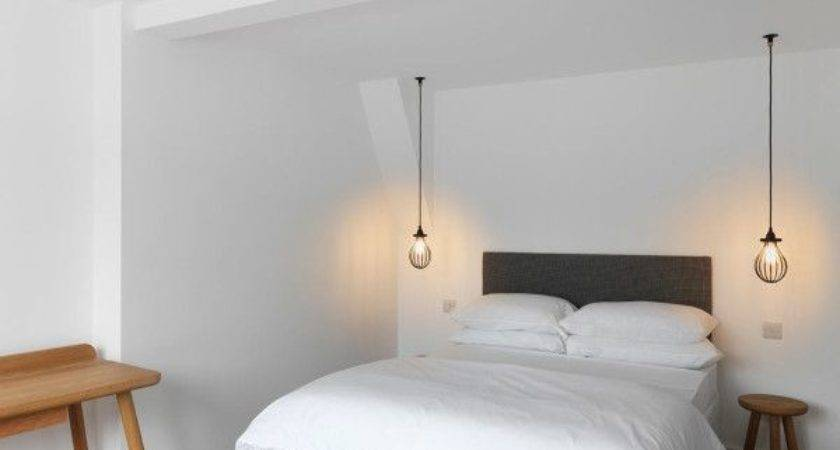 Outstanding Hanging Bedside Lights Ideas